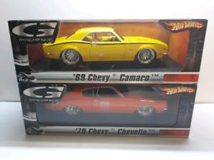 Hot wheels G-machines 1:18 diecast Camaro Chevelle