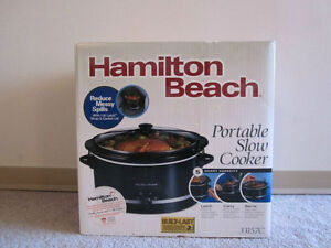 Hamilton Beach 5 Quart (4.5 Liter) Slow Cooker (Without Bowl)