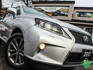 '13 Lexus RX350 F-Sport+NAV+Roof+Leather+SALE! Only $228/Pmts!!