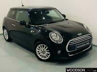 2014 64 MINI HATCH COOPER 1.5 COOPER 3D 134 BHP BLACK WITH DAB / BLUETOOTH