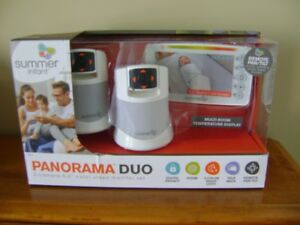 SUMMER INFANT DUO MONITOR (NEW)