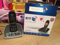 Bt cordless house phone with answer machine
