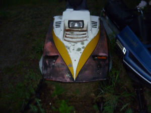 parting out 1980 and 1981 ski doo blizzards