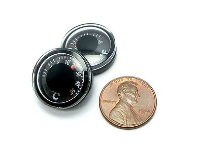Miniature 20Mm Bimetal Dial Thermometer  Fahrenheit Celsius  Lot Of 1 5 10Pcs