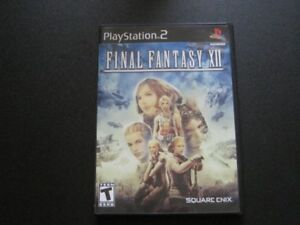 FINAL FANTASY Ⅻ FOR PLAYSTATION 2