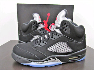 "NIKE AIR JORDAN 5 "" BLACK METALLIC OG"""
