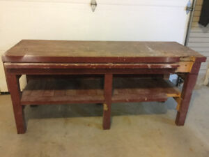 Workbench (pick up only)