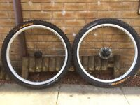 "Bontrager 26"" tubeless ready wheelset"