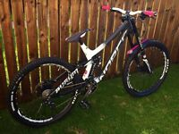 Norco Aurum 7.3 Carbon 2016 size large downhill mountain bike