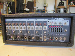 Peavey XR 560 Powered Mixer.