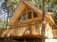Tamlin's Premium 6x8 Douglas Fir milled Log Cabin Special is on!