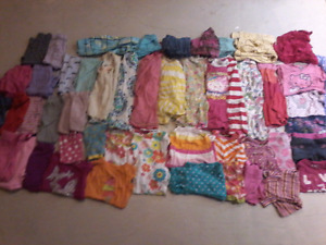 Girl 3t and 4t  summer and spring clothes