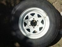 FIFTH WHEEL and TRAVEL TRAILER TIRE