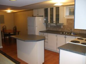 All Inclusive Large/Bright 2 Bedroom Lower Level Apartment