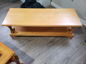 Got a coffee table and 2 end tables for sale just got a new set