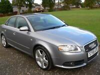 Audi A4 2.0TDI 2006 S Line Service history Will Mot for 1 year
