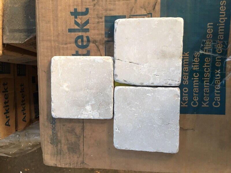 White Marble Wall Tilesin Romford, LondonGumtree - 40 Square meters of Beige wall bathroom tiles. Natural effect tiles. £50 per Square Meter