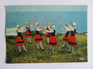 """024 - Folklore Basque – Danse des arceaux – Ballets de Bayonne """"Oraï Bat"""" 1 - France - État : Occasion: Objet ayant été utilisé. Consulter la description du vendeur pour avoir plus de détails sur les éventuelles imperfections. ... - France"""