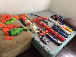 NERF SHOOTERS 4 SALE