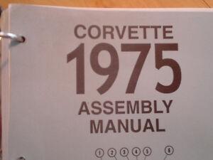 manuel d'assemblage pour corvette