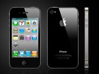 7 black 16 GB  phone 4s +5 black 16GB iphone4  for sale