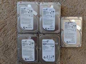 """2TB 3.5"""" SATA Hard Drives"""