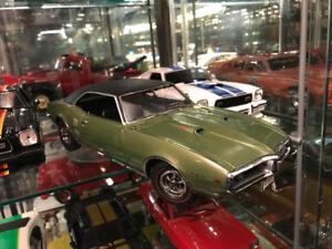 Pontiac firebird 1968 Ram air 400 exact detail diecast 1/18