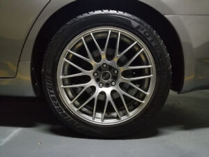 MSR Rims with 18 inch Potenza Tires (Infiniti G37)