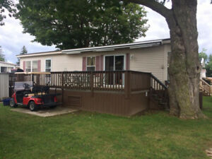 Privately owned, 2 bedroom plus den trailer for rent - Sherkston