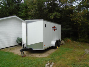 2015  14' Royal Cargo Enclosed Trailer