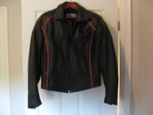 Woman Motorcycle Jacket - Size 6-8 never worn