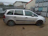 Vauxhall Zafira b ## breaking ## silver