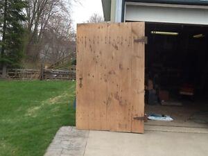 For Sale - 1800's grainery door (2)