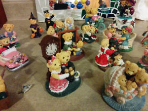 Avon Loveable Teddy Collection