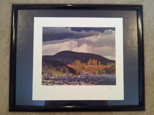 """A.J. Casson """"Pugh Lake"""" Lithograph - Appraised at $700 London Ontario image 5"""