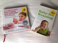 Baby led and toddler meal plan books