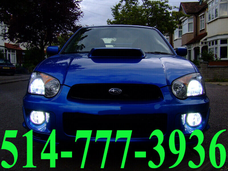 SUBARU LED KIT HID XENON CONVERSION CAR HEADLIGHTS ...