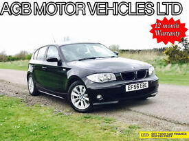 *** 2007MY AUTOMATIC BMW 120 2.0 AUTO 2.0i SE MODEL PETROL LOW MILES ***
