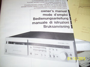 HARMAN/KARDON TAPE DECK CD 191 Windsor Region Ontario image 4