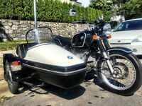 1976 BMW R90/6 with Velorex 562 sidecar - Gorgeous!