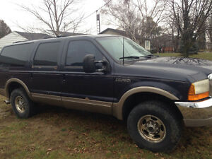 2000 7.3L  Ford Excursion SUV, Crossover