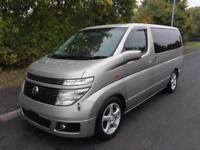 2002 Nissan Elgrand XL TOP SPEC LEATHER S.ROOFS FRESH IMPORT 3.5 5dr