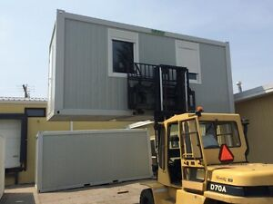 Mobile Office Units ~ Flatpacked 8x20 Steel-Frame Units