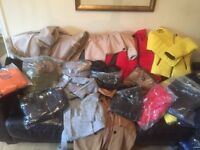 Job lot of 20 New Ladies Coats. Ideal Market or car booter