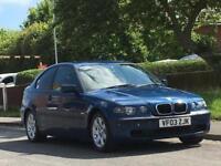 BMW 316 1.8 2003MY ti SE Compact,LONG MOT,EXCELLENT DRIVE