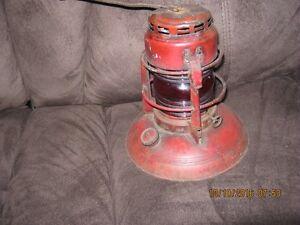 Vintage DIETZ No 40 Traffic Guard lantern kerosene lamp redglass