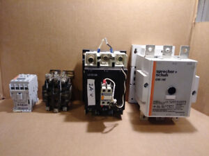 Electrical Contactors and Magnetic Starters