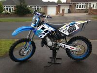 2002 TM 125 mint £1325