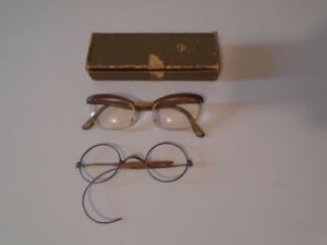 Vintage Nylor Eyeglasses and Old Frame