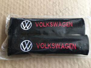 D&R Set of 2 Seat Belt Covers Shoulder Pads For VW Volkswagen